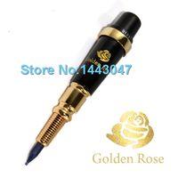 Wholesale Golden Gun Tattoo Machine - Wholesale-Freeshipping 1Set Taiwan Giant Sun Golden Rose Tattoo Machine Permanent Makeup Original Eyebrow Lip Tattoo Gun
