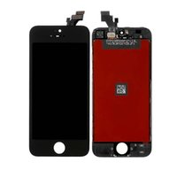 Wholesale Iphone 5g Screen Digitizer - Grade AAA White Black Repair lcd For iPhone 5 5S 5G Lcd Display Replacement Touch Screen Digitizer Sensor Panel Assembly with Free Shipping