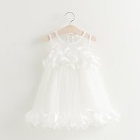 Knee-Length organic prom dresses - Pink Princess Dress Children Clothes Girls Dress Made Lace Appliques Wedding Prom Ball Gowns Princess Tutu Sequined Princess