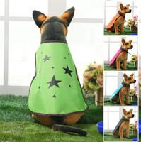 Wholesale Wholesale Designer Winter Jackets - High Quality Pet Dog Cloak Mantle Waterproof Raincoat Sunblock Puppy Fashion Suit Creative Designer Outfit Apparel Coats Sun-proof Clothing
