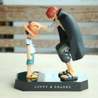 Wholesale One Piece Shanks Toy - One Piece classic figure Monkey D. Luffy and Shanks toys good gifts for Comic and Animation fans