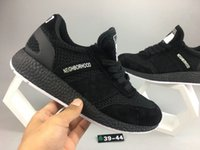 Wholesale New Table Tops - 2017 New NBHD x Original Iniki Runner Boost Neighborhood Men Running Shoes all Black Women Sneakers top quality Iniki sports shoes eur 39-45