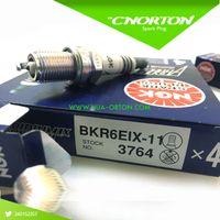 Wholesale Ngk Plugs Japan - 4X NGK IRIDIUM IX spark plug 3764 BKR6EIX-11 for 6418 2272 BKR6EIX MADE IN JAPAN, logan mazda 323 bujias