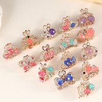 Femmes Lady Girls Mini Alloy Hairpins Hairclips Claws Headwear Barrettes Accessoires pour cheveux