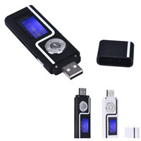 Мода спорта mp3 Портативный USB MP3 Music Player ЖК-экран Поддержка 16GB TF Card Mini Mp3 Hifi Player @Z
