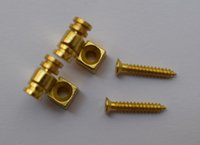 Wholesale Guitar Press - 2PCS Electric guitar headstock ball bearing press string buckle