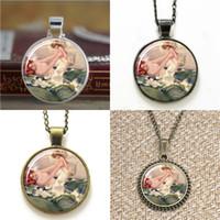 Wholesale vintage slide necklace for sale - 10pcs vintage mother and baby pendant Pendant Necklace keyring bookmark cufflink earring bracelet
