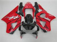 Wholesale Cbr Body Parts - Aftermarket body part fairing kit for Honda CBR900RR 2002 2003 red black fairings set CBR 954RR 02 23 OT29