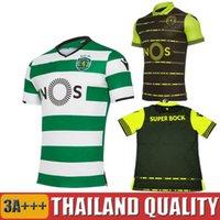 Wholesale Camisas Sport - 17 18 Sporting Clube de Portugal Lisbon Futbol Camisa Lisboa Dost Martins 2017 camisas de futebol 2018 futball Football Camisetas Shirts