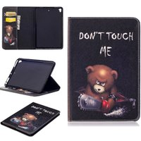Für Apple iPad Mini5 Mini 4 Gen Tablettenmagnet Smart Sleeve Case Print Flip Stand PU Leder Schutzhülle Soft TPU Cover Shell