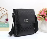 Wholesale Men Messenger Ba - Brand messenger bag Fashion inclined shoulder bag Men shoulder bag Europe and the United States star favorite best-selling small shoulder ba