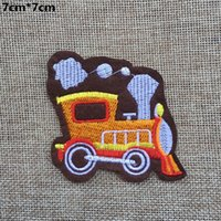 Wholesale Embroidered Car Badges - 2015 7cm*7CM car Badge embroidered Appliques DIY accessory garment bag hot paste patch