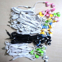 Wholesale cost headphones - 300pc lot Disposable earphones headphones low cost earbuds for Theatre Museum School library,hotel,hospital Gift