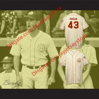 Wholesale peaches movies - Tom Hanks Jimmy Dugan Rockford Peaches Baseball Jersey A League of Their Own Movie Jerseys