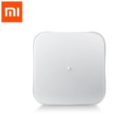 Wholesale Health Weight Scales - Wholesale-Original Xiaomi Scale Mi Smart Health Weighing Mi Scale Electronic Bluetooth4.0 Lose Weight Digital Scale LED Displa Android IOS