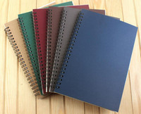 Wholesale free spiral notebook shipping resale online - 2017 new Paper Products school spiral notebook Erasable Reusable Wirebound Notebook Diary book A5 paper
