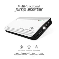 cargador del banco del poder del iphone 4s al por mayor-Car Jump Power Bank 12V 8000mAh multifunción Mini Portátil Jump Starter para Car Power Bank Inicio de Laptop con embalaje al por menor
