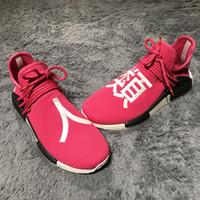 Wholesale Green Japanese - NMD Human Race Shock Pink Japanese Lettering Pharrell Williams NMDs Shoes Sales - Friends and Family,Shark Apes,Off White,Yellow Hu Runner