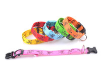 Wholesale Tpu Pet Collars - 6 Colors Pluto Fiber LED Flash Pet Collar Ultra Flash Dog Collar Pet Leashes TPU Dog Suppliers