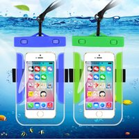 Wholesale Universal Waterproof Case Underwater Cellphone Dry Bag Pouch Mobile Cases Bag Cover for All Smartphone Touchscreen