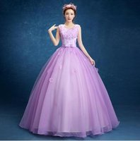 Wholesale Dress Quinceanera Hot Sale - 2017 New Arrival Hot Sales Quinceanera Dresses Sweetheart Floor-length Ball Gown Off The Shoulder Lace Cheap Quinceanera Gowns