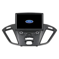 Wholesale ford car dvd player radio online - new inch Andriod Car DVD player for Ford Transit with GPS Steering Wheel Control Bluetooth Radio