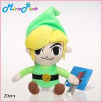 Wholesale Zelda Skyward Sword - 20cm Anime Legend of Zelda Plush Doll Stuffed Toy skyward sword zelda link plush dolls good kids gift toy