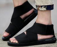 Wholesale q black - 2017 Newest Y3 Qasa Sandal Summer Shoes Fashion High-Q Tubular y3 slippers mens Womens comfortable slippers sandal Boost size 39-44