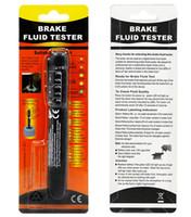 Wholesale Led For Test - Brake Fluid Tester for 4S shop car owner LED Car Vehicle Auto Automotive Testing Tool for DOT3 DOT4 DOT5 POST
