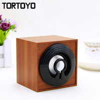 Wholesale wireless laptop computer speakers - Wholesale- Quality Wood Wooden Mini Desktop PC Subwoofer Stereo USB Speaker Computer Speakers Loudspeaker for Laptop Notebook Smart Phone