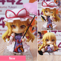 Wholesale Anime Touhou - Anime Touhou Project Yakumo Yukari PVC Action Figure Collectible Model toy 10cm 442#