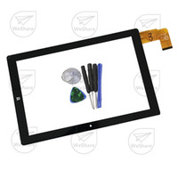 """Wholesale Touch Screen Chuwi Replacement - Wholesale-New 10.1""""Black Touch Screen HSCTP-747-10.1-V0 For Chuwi Hi10 CW1515 Digitizer Panel Replacement Glass Sensor Free Shipping"""