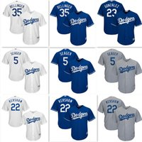 Wholesale Los Angeles Dodgers Jersey Clayton Kershaw Corey Seage Jersey Cody Bellinger Cool Base Player Embroidery Baseball Jerseys