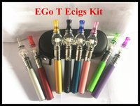 Wholesale Ego Perfume Atomizer - NEW Ego t starter kit with glass globe atomizer vapor globe atomizer best vape pen vaporizer wax atomizer perfume bulb clearomizer