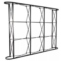 Wholesale Show Trade - Aluminum flower Wall stand frame for Tradeshow Straight Tension Banner Exhibition Display Stand Trade Show Wall