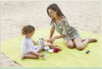 Wholesale Fastest Compact Car - Sand Proof Blanket,Sand Free Beach Mat - Fast Dry ,Waterproof, Ultra Portable, Lightweight & Compact Large Beach Towel Outdoor Pads ST010