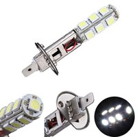 Wholesale H1 13 Led - 1X H1 5050 SMD 13 LED Auto Car LED Headlight Automobile Head Daytime Runing Light Driving Light Fog Light Lamp Bulb Xenon