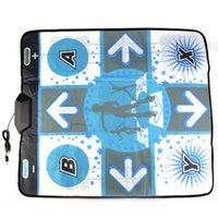 Wholesale Party Dance Games - Anti Slip Dance Revolution Pad Mat for Nintendo WII Hottest Party Game