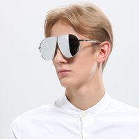 The New Sunglass donna Large Frame Oceanic Slice Goggles Popular Personality Uomo Donna Sunglsses 6 Style Fashion Polarized Light