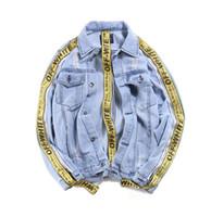 Wholesale Diamond Loose Rhinestones - Vomint 2017 New Mens Denim Jacket Coat Single Breasted Loose Fit Light Blue Big Men Plus Size L 4XL 5XL 6XL 7XL V7S1C002