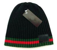 Wholesale Top Hat Designs - high quality brand Luxury design Beanie Winter Hats for Men women Knitted Beanie Wool Hat wholesale Bonnet Gorro touca Knit Thicken Warm Cap