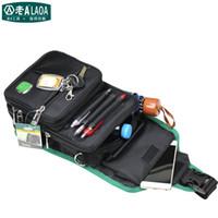 leinwand nylon werkzeugtaschen großhandel-Wholesale-LAOA Multifunktions-Kuriertasche Cross Body Elektriker Hardware Mechaniker Canvas Werkzeugtaschen für Shop-Tools