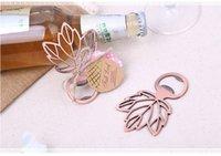 ingrosso foglie di acero-Decorazione a forma di foglia di acero vuoto con bottoni da fiori Regali per feste di nozze per ospiti Bomboniere e regali Decorazione di nozze
