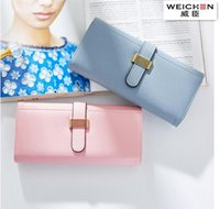 Wholesale Cell Phones Large Screens - Factory wholesale handbag fashion more screens brand purse Lovely quality leather woman holding purse trend with large capacity leather wall