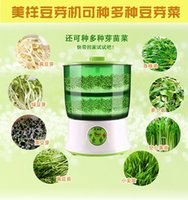 Wholesale Full automatic household large capacity bean sprouts machine double layer bud machine V volt voltage us