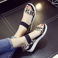 Wholesale spool toes - Summer shoes Hot Selling sandals women peep toe flat Shoes Roman sandals Women shoes sandalias mujer sandalias high quality