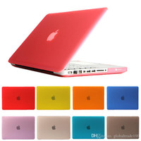 Wholesale Crystal Cases For Macbook Pro - For Macbook 11.6 12 13.3 15.4 Air Pro Retina Touch Bar Crystal Clear Cases Full Protective Cover Case Free DHL