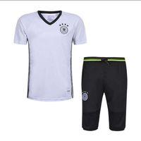 Wholesale Men S Suit Bags - 2017 Survetement football 16 17 German sportswear Italian football training suit bag Chandal German training leggings sweater shirt