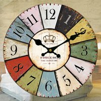 Wholesale Modern Metal Clock - Modern Contemporary hanging clock Casual   Office Business Family Birthday Wall Clocks,Round   Novelty Metal   Plastic Indoor Clocks