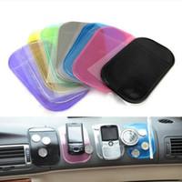 mobiltelefonmatte großhandel-In Auto Anti-Rutsch-Matten Anti Slip Pad für iPad / Handy / Auto Puppe rutschfeste klebrige Pad Auto Armaturenbrett Aufräumen Anti-Rutsch-Pad